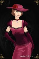 The Lady in Velvet by LadyIlona1984