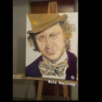 Willie wonka by mike-nesloney