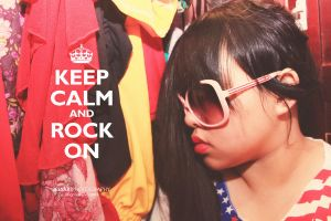 KEEP CALM and ROCK ON by lovewhizkidz
