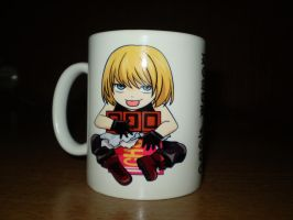 Mello (cup) by Hedgehog-Russell