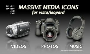 Massive Media Icons-Win