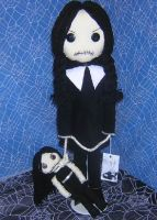 Wednesday Addams Doll by Zosomoto