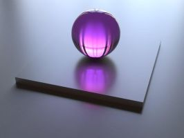 Purple Sphere by peterbru