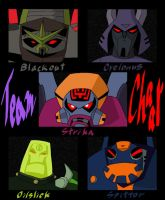 Team Chaar (transformers:animated) by dappeppad