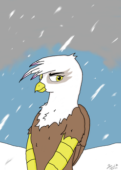 Gilda the griffon by lec-the-wolf