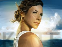Kate Austen Lost by hazelong
