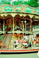 Carousel at base of Montmartre by sunflower983