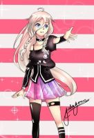 IA-vocaloid by july14jojojoth