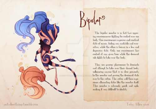 Real Monsters- Bipolar v2 by ZestyDoesThings