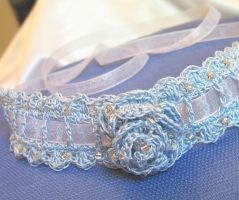 Petite Crochet Collar by doilydeas
