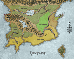 TFoD | Eiraenaen Map by tisea