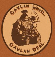 Gavlan wheel? Gavlan Deal! (Dark souls 2). by Paper-pulp