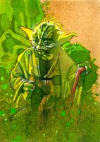 Yoda by markmchaley
