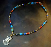 Lapis Necklace FOR SALE by ThreeRingCinema