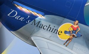 Dan's Machine - Nose art by danyboz
