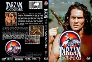 Tarzan The Epic Adventures DVD Cover by MisterBill82
