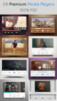Media Player Premium Collection by khaledzz9