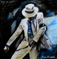 Smooth Criminal - MJ by annakoutsidou