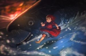 ponyo by unded