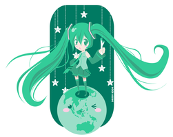 Vocaloid: World is Mine by daniwae