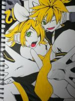 Rin and Len Love is War by Lauren109x