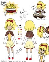 Exotic Butters Human Ver. by JustALittleZombie