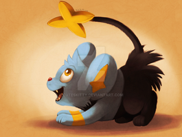 Shinx by CuteSkitty