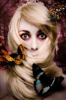 Butterfly Portrait by stargate4ever23