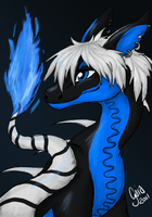 Blue Firelighter - AT by meroaw