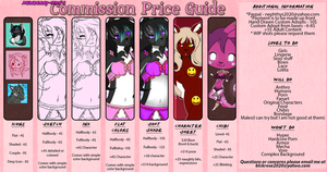 COMMISSIONS OPEN!! by Mewberry-Chan