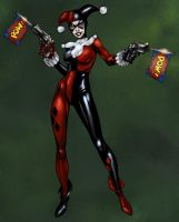 Randy Green Harley Quinn by Ronron84