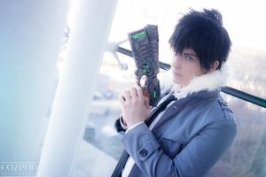 Psycho-Pass: Kougami by Requiem-Rain
