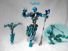 Kalikiki: Toa of Water by Glenfoxx