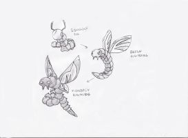 Fakemon Flies on the Wall by Tomatem13