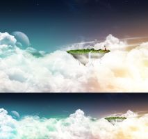 Floating Island by javierocasio