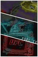 UFC on Fuel TV Poster by weoweoweo
