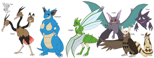 Pokemon TLS- Group 1 by blueharuka