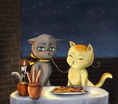Gerita - Lady and the Tramp by Honeysucle10