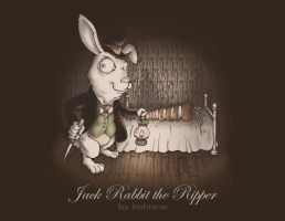 Jack Rabbit the Ripper by faustdavenport