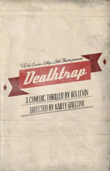 Deathtrap Program Cover by ediskrad-studios