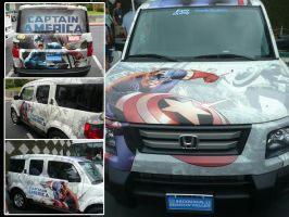 Final Captain America Car by RichGinter