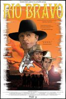 Rio Bravo movie poster remake assignment by felluponthieves