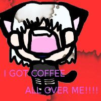 Inami got coffee on her by Inami4