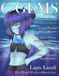 Crystal Gems Illustrated: Lapis Lazuli by Crow-Matic