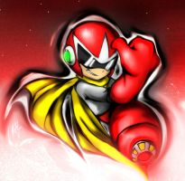PROTO MAN APROVES by WhiteFox89