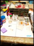 My Working table x3 by ChocoAng3l