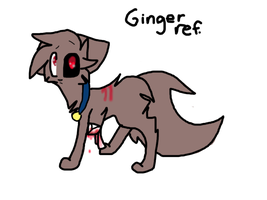 Ginger ref c: by 0Silverskull0