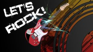 LETS ROCK! (Wallpaper) by Hardii