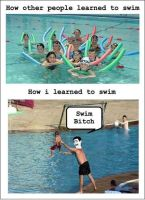 how i learned to swim... by salvi41