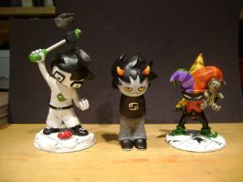 Homestuck figures Complete by Kristheblade